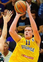 11. Jonas Jerebko (Sweden)